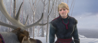 Sven stopping Kristoff from leaving