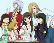 A tea party with Tohru, the other girls & Ayame