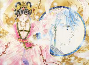 Miaka and yui mirror
