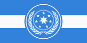 Flag of the united galactic federation by rvbomally-d8hn7il