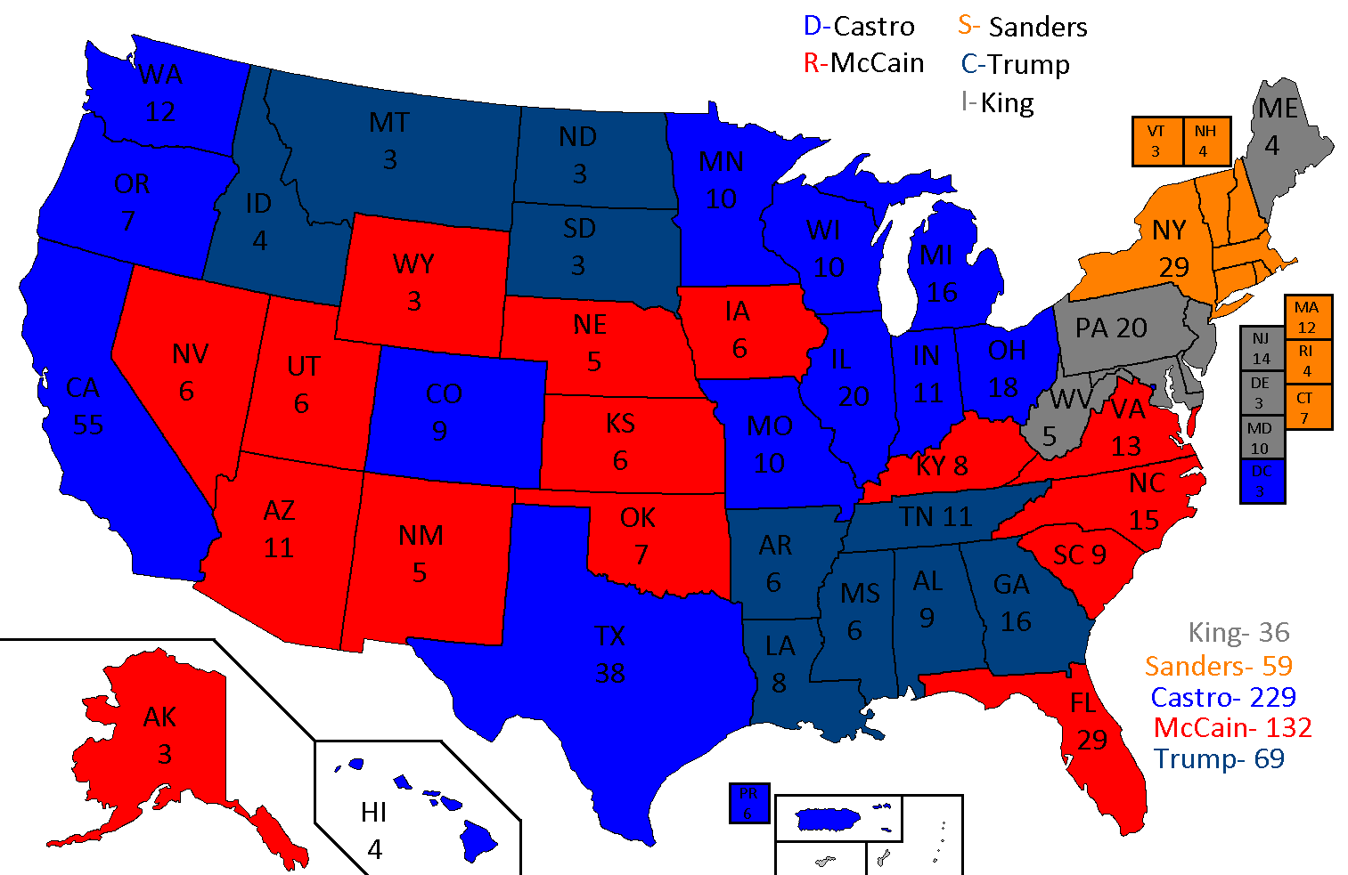2020 United States Presidential Election Future Fandom