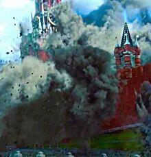 Kremlin shelling