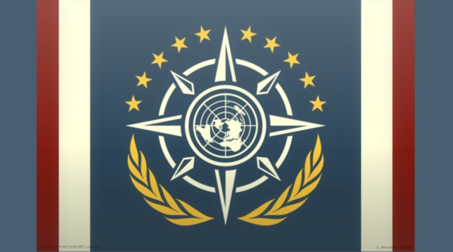 File:United Earth Flag by MisterK91.png