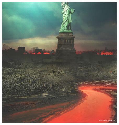 File:New York on Fire by SATTISH.jpg