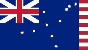 UK US British Empire Heritage Flag