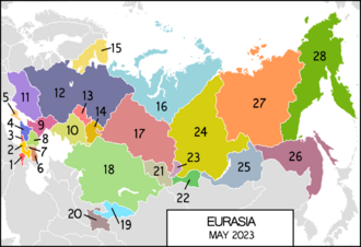 Dissolution of the Eurasian Union