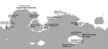 Cities of mars 2