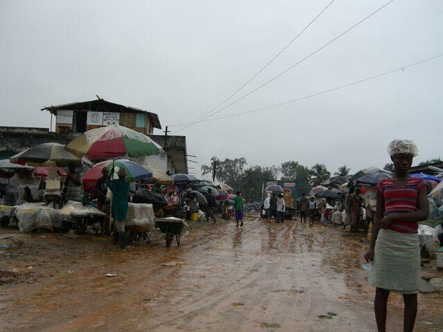 File:Liberia - Muddy market.jpg