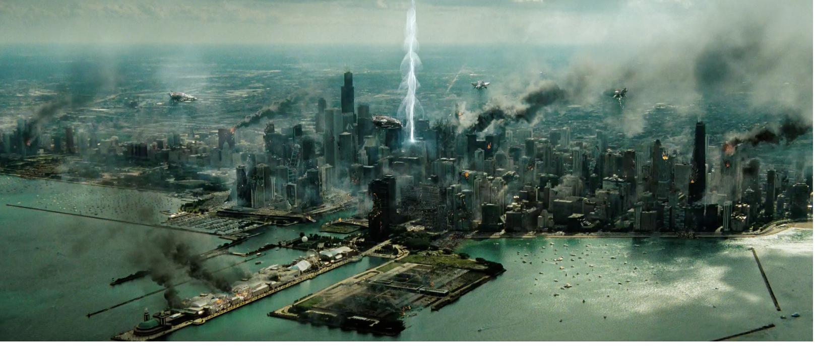destroyed city evangelion | Post apocalyptic city ... |Future Destroyed City