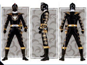 Black Dino Ranger Form