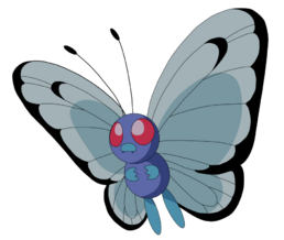 Butterfree Flying