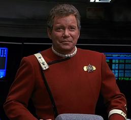 Captain James Tiberius Kirk