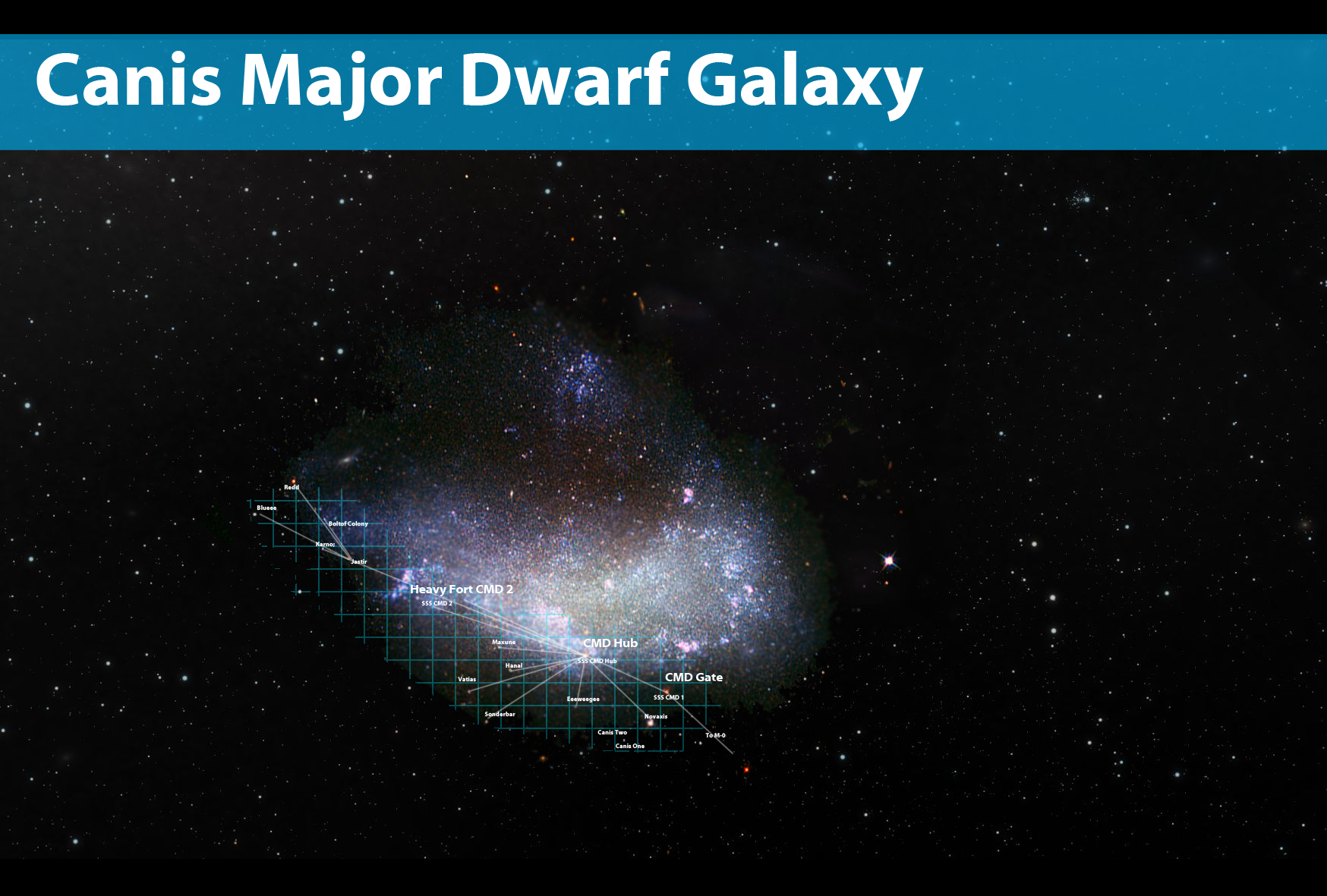 canis major dwarf galaxy - photo #11