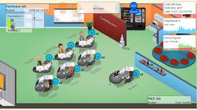 Game Dev Tycoon Layout