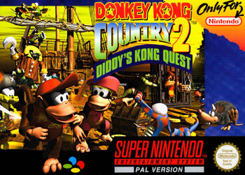 DonkeyKongCountry2Cover