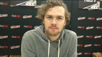 NYCC 2015 Finn Jones & Keisha Castle-Hughes from Game of Thrones-0