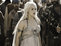 Daenerys in wedding dress