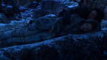 Jon lies with Ygritte 2x6.png