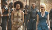 Daenerys takes missandei