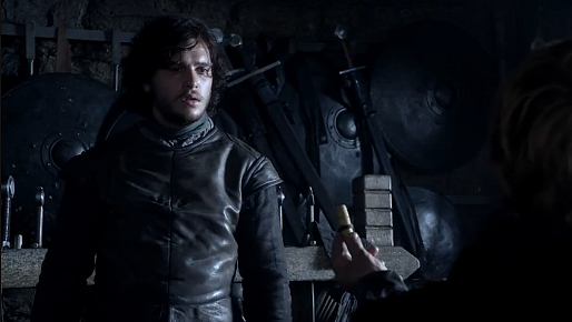 File:Lord Snow Tyrion news of Bran.png