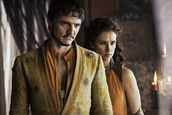Pedro-Pascal-as-Oberyn-Martell-Indira-Varma-as-Ellaria-Sand photo-Helen-Sloan HBO