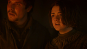Arya and Gendry - Kissed by Fire