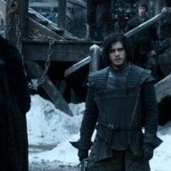 Jon training under Ser <a href=