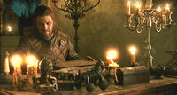 Eddard and the book