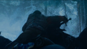 Poddrick fighting alongside Brienne to save Sansa
