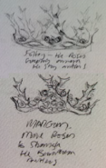 Purple Wedding crowns concept art