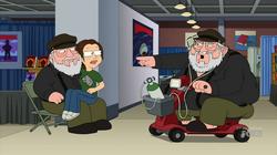 George RR Martin Family Guy