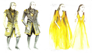 Dorne costume Season 4 concept art