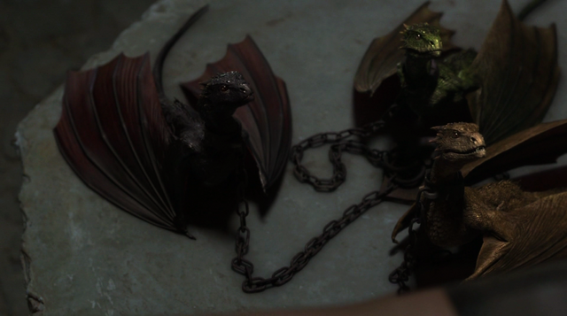 File:Drogon, Viserion and Rhaegal 2x10.png