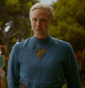 Brienne costume Purple Wedding 2