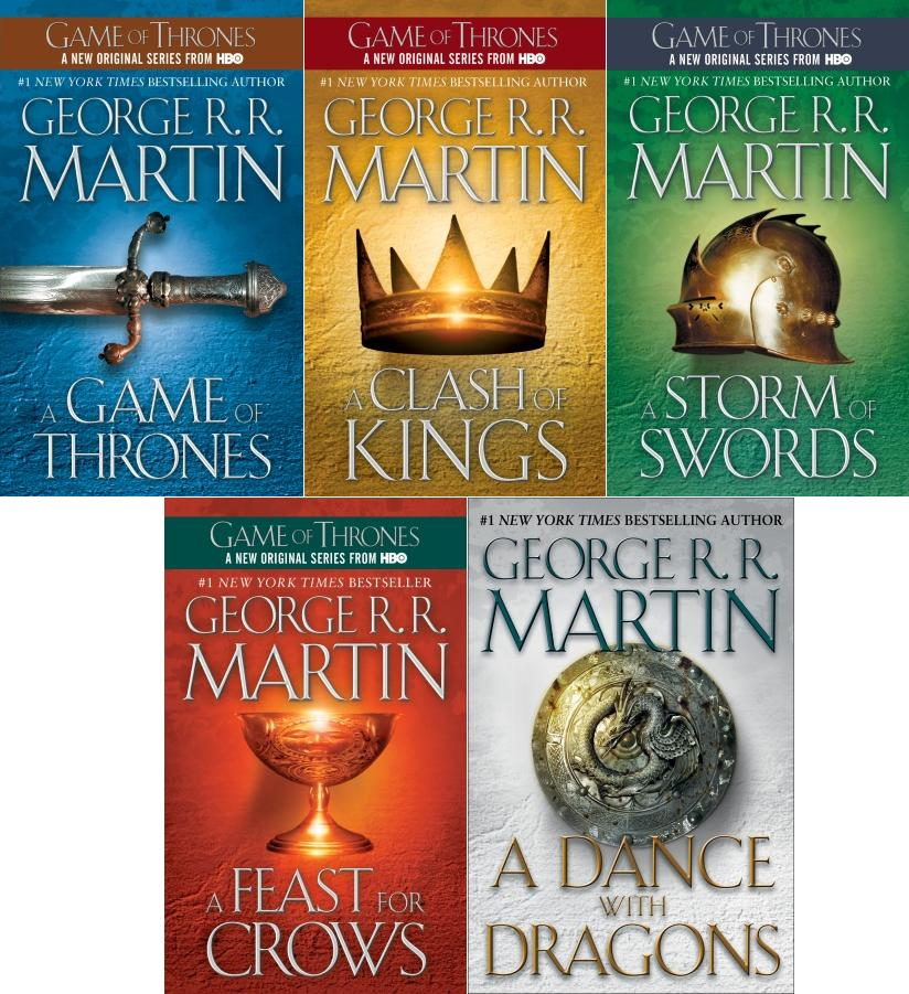 books on tape game of thrones
