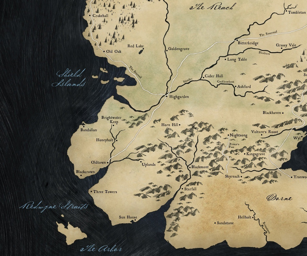 the reach game thrones iron islands map braavos map game thrones