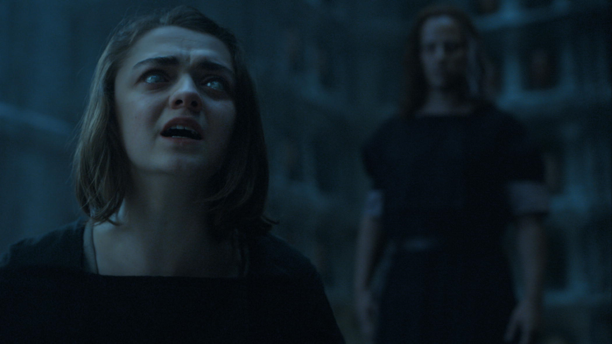 Image result for game of thrones season 5 arya kills meryn gif
