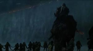 Battle of Castle Black begins