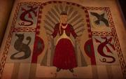 S5 Rhaenyra Iron Throne quartered heraldry