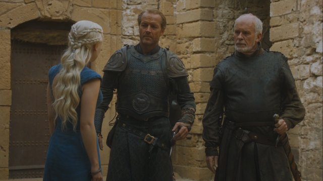 File:Daenerys orders barristan and jorah to not question her.png
