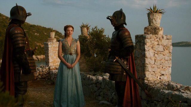 File:Lannister guards Garden of Bones.jpg