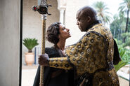Areo Hotah and Ellaria Sand