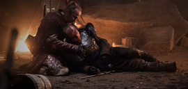 Beric Kissed by Fire