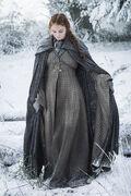 Sansa stark s6 in snow