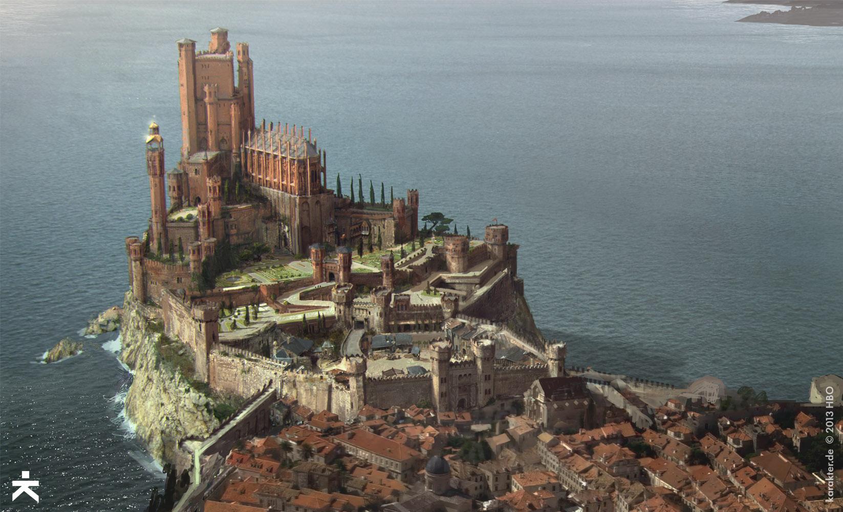Datei:Königsmund RoterBergfried CA.jpg | Game of Thrones