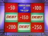 Debt round 1 board 2