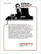 NTT Sandy Frank Hotline 2-18-1974