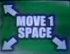 Small Move 1 Space (Up-Left, Down-Left, and Down-Right)