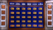 Jeopardy! second metallic game board