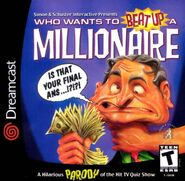 Who Wants to Beat Up a Millionaire front cover (Sega Dreamcast)